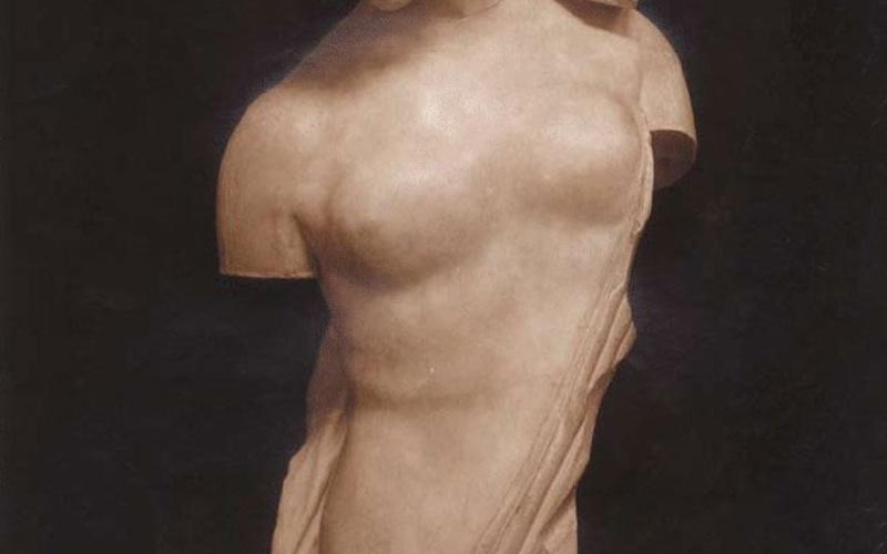 "Carbon print. Edizioni Brogi. Psyche. c. 1910. 14 1/2 x 11"" (36.8 x 27.9 cm). The Museum of Modern Art, New York. Gift of Richard Benson."