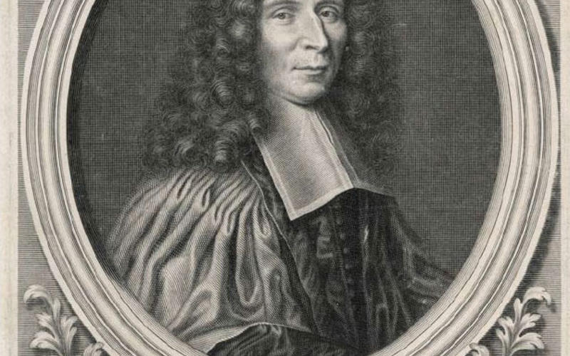 "Copper engraving. Nicolas Bazin. Portrait de Monsieur Helyot Conseiller. 1686. 10 1/4 x 7 3/4"" (26 x 19.7 cm). The Museum of Modern Art, New York. Gift of Richard Benson."
